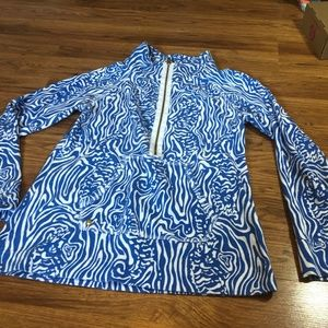 Lilly Pulitzer Blue & White Popover
